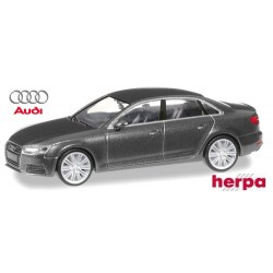 Audi A4 (B9 - 2015) berline gris Daytona métallisé
