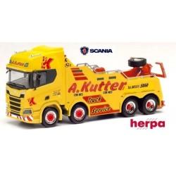 """Scania CR 20 ND camion de dépannage Empl Bison """"A. Kutter Memmingen"""""""