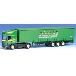 "Scania 4er TL + semi-remorque tautliner ""Hohl AG"" (CH)"