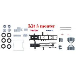 Set de 2 châssis Tracteur Volvo FH '13 carénés - kit à monter