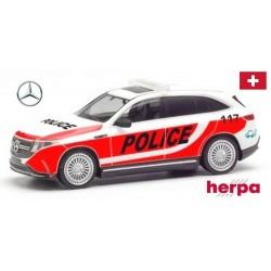 """MB EQC SUV électrique """"Police suisse"""""""