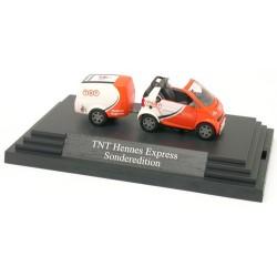 "Smart Fortwo 2007 cabriolet + remorque fourgon ""TNT"""