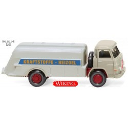 """MAN 10.210 (court) camion citerne """"Kraftstoffe - Heizoel"""" (1960)"""