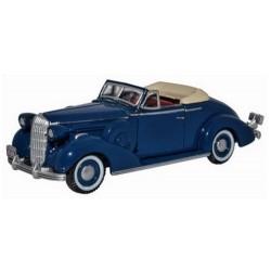 Buick Special Convertible Coupe 1936 bleu foncé