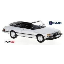 Saab 900 Turbo cabriolet (1986) gris métallisé - Gamme PCX87