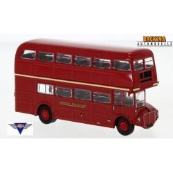 """AEC Roadmaster autobus à impériale  """"London Transport"""" (1960) - 2ème modèle"""