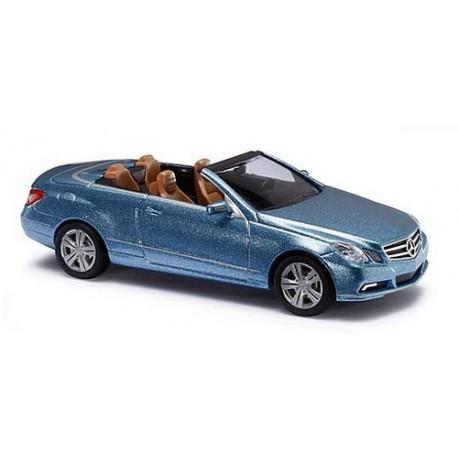 MB Classe E (W212 - 2010) cabriolet bleu ciel métallisé