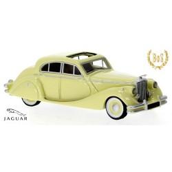 Jaguar Mark V berline 4 portes (1950) beige clair