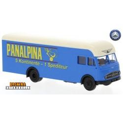 """MB LP 322 camion fourgon intégral (1960) """"Panalpina"""""""