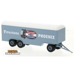 "remorque fourgon 3 essieux ""Firestone Phoenix"""