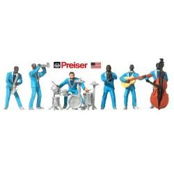 Jazz Band (6 musiciens avec leurs instruments)