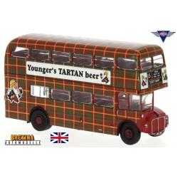 "AEC Roadmaster autobus à impériale  ""Younger´s Tartan Beer"" (1960)"