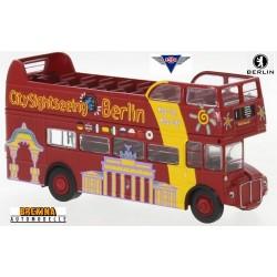 "AEC Roadmaster autobus à impériale  Open Top ""City Sightseeing Berlin"" (1960)"