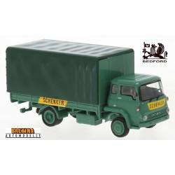 """Bedford TK camion bâché """"Schenker"""" (1971)"""