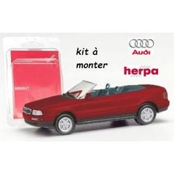 Kit Audi 80 cabriolet rouge vin métallisé