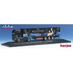 """Daf 95 SSC + semi-remorque fourgon """"Phantom der Oper"""" - PC"""