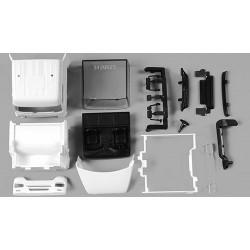 Set de 2 cabines MB Axor (avec déflecteurs et carénage) en blanc - kit à monter