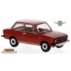 Daf 66 berline 2 portes (1975) rouge feu