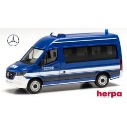 "MB Sprinter '18 minibus toit réhaussé ""THW"""