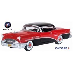 Buick Century 1955 rouge et noire