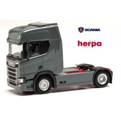 Scania CR 20 HD Tracteur solo caréné gris acier