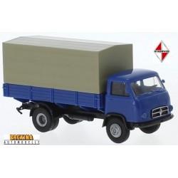 Borgward B6565  camion bleu bâché (1959)