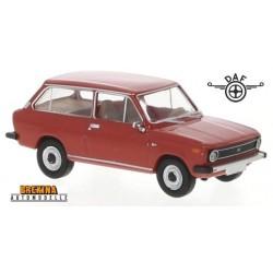 Daf 66 kombi 3 portes (1972) rouge