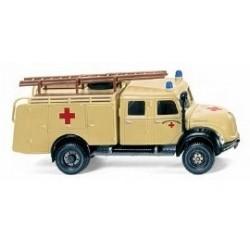 "Magirus-Deutz ""capot rond"" camion fourgon TLF 16 DRK (1956)"