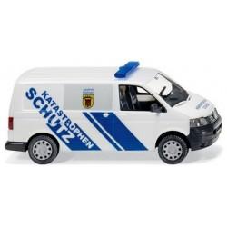 VW T5 relifté fourgon Katastrophenschutz
