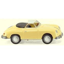 Porsche 356 A cabrio jaune 1948