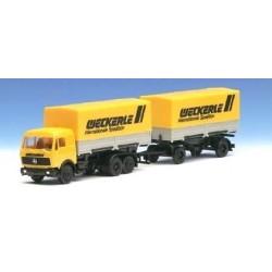 MB S camion + rqe Pte caisses bâchées Weckerle