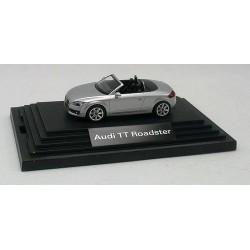 Audi TT roadster gris métallisé (Exclusif Audi)
