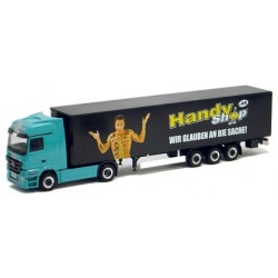 """MB Actros LH 08 """"Angleitner"""" + semi-rqe tautliner Handy Shop (A)"""