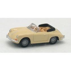 Porsche 356 cabriolet beige
