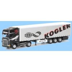 Scania R TL + semi-rqe tautliner Kogler (Austria)