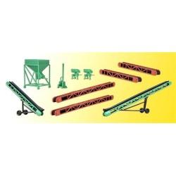 Set de sauterelles & silo de chargement (kit)