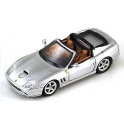 Ferrari F575 Super America argent (Toit amovible)