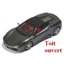 Ferrari F430 spider gris foncé métallisé Toit ouvert