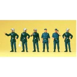 Set de 6 Sapeurs Pompiers français