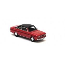 Ford Taunus P6 15M '68 rouge à toit vinylique