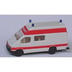 Ford Transit ambulance Notarzt (toit réhaussé)