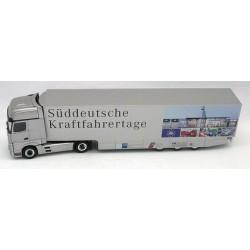 "MB Actros Giga '11 + semi-rqe ""Süddeutsche Kraftfahrertage"""