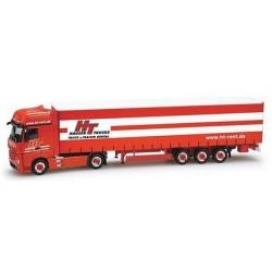 MB Actros Giga '11 + semi-rqe tautliner Hauser Trucks