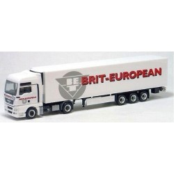 MAN TGX XXL + semi-rqe frigo Brit-European (GB)