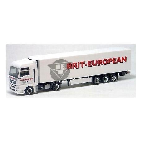 MAN TGX XXL + semi-rqe frigo Brit-European (GB)