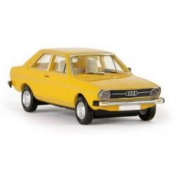 Audi 80 Type B1 2 portes (1972) jaune