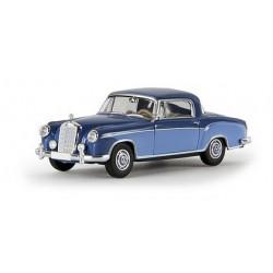 MB 220 S coupé (W180 II) 1956 bleu ciel et foncé
