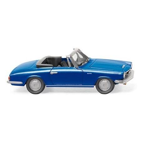 Glas 1700 TG cabriolet bleu métallisé 1964