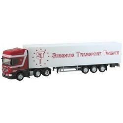 Scania R TL 6x2 + semi-rqe fourgon S.T.T. (NL)
