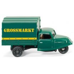 "Goli triporteur bâché ""Grossmarkt"""